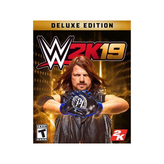 WWE 2K19 Deluxe [ PC / Steam ] [ Full Game Key ] [ Region: U.S. ] [ Instant Delivery ]