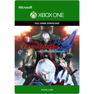 Devil May Cry 4 Special Edition [ Microsoft Xbox One ] [ Full Game Key ] [ Region: U.S. ] [ Instant Delivery ]