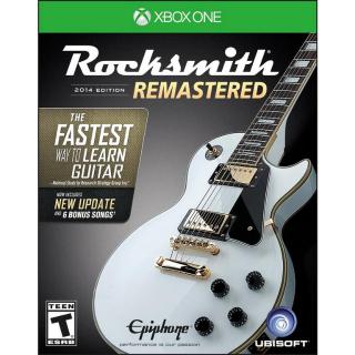Rocksmith 2014 Edition - Remastered [Microsoft Xbox One] [Full Game Key] [Region: U.S.] [Instant Delivery]