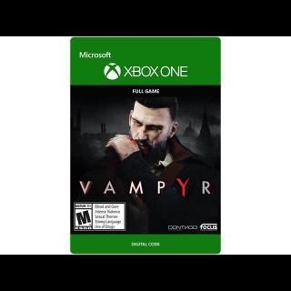 Vampyr [ Microsoft Xbox One ] [ Full Game Key ] [ Region: U.S. ] [ Instant Delivery ]