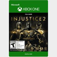 Injustice 2 - Legendary Edition [Microsoft Xbox One] [Full Game Key] [Region: U.S.] [Instant Delivery]