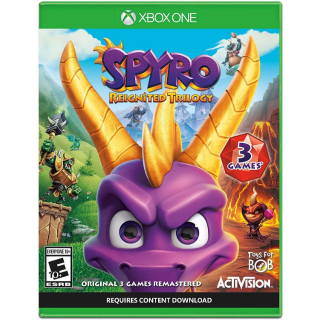Spyro Reignited Trilogy [ Microsoft Xbox One ] [ Full Game Key ] [ Region: U.S. ] [ Instant Delivery ]