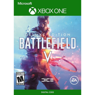 Battlefield V 5 Deluxe Edition (Microsoft Xbox One, 2018) Full Game Digital Download Key - Instant Delivery!