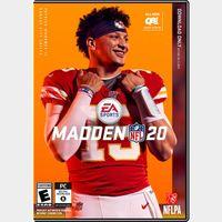 Madden NFL 20 [ PC / Origin ] [ Full Game Key ] [ Region: U.S. ] [ Instant Delivery ]