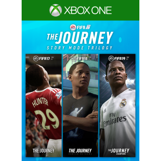 FIFA The Journey Trilogy (17, 18 & 19) [ Microsoft Xbox One ] [ Full Game Key ] [ Region: U.S. ] [ Instant Delivery ]