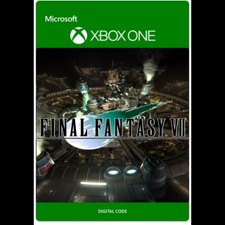FINAL FANTASY VII [ Microsoft Xbox One ] [ Full Game Key ] [ Region: U.S. ] [ Instant Delivery ]