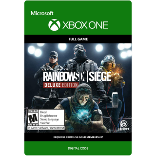 Tom Clancy's Rainbow Six Siege Deluxe Edition [ Microsoft Xbox One ] [ Full Game Key ] [ Region: U.S. ] [ Instant Delivery ]