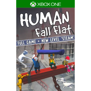Human: Fall Flat + New Level: 'Steam' [ Microsoft Xbox One ] [ Full Game Key + DLC ] [ Region: U.S. ] [ Instant Delivery ]