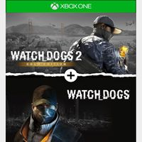 Watch Dogs 1 + Watch Dogs 2 Gold Editions Bundle [Microsoft Xbox One] [Full Game Key] [Region: U.S.] [Instant Delivery]