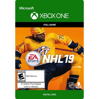 EA SPORTS NHL 19 [ Microsoft Xbox One ] [ Full Game Key ] [ Region: U.S. ] [ Instant Delivery ]