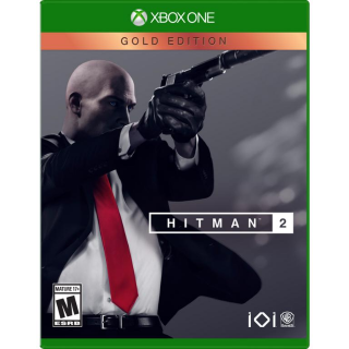 HITMAN 2 - Gold Edition [Microsoft Xbox One] [Full Game Key + DLC] [Region: U.S.] [Instant Delivery]