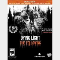 DYING LIGHT: THE FOLLOWING ENHANCED EDITION [PC / Steam] [Full Game Key + DLC] [Region: Global] [Instant Delivery]