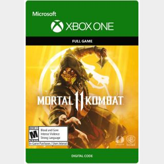 Mortal Kombat 11 [Microsoft Xbox One, X|S] [Full Game Key] [Region: U.S.] [Instant Delivery]