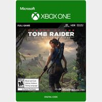 Shadow of the Tomb Raider Definitive Edition [Microsoft Xbox One] [Full Game Key] [Region: U.S.] [Instant Delivery]