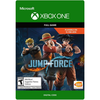 JUMP FORCE [ Microsoft Xbox One ] [ Full Game Key ] [ Region: U.S. ] [ Instant Delivery ]