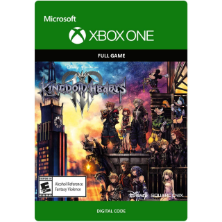 KINGDOM HEARTS Ⅲ 3 [ Microsoft Xbox One ] [ Full Game Key ] [ Region: U.S. ] [ Instant Delivery ]
