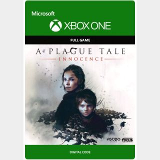 A Plague Tale: Innocence [Microsoft Xbox One, X|S] [Full Game Key] [Region: U.S.] [Instant Delivery]