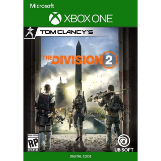 Tom Clancy's The Division 2 [ Microsoft Xbox One ] [ Full Game Key ] [ Region: U.S. ] [ Instant Delivery ]