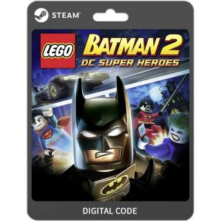 LEGO Batman 2 DC Super Heroes [PC / Steam] [Full Game Key] [Region: Global] [Instant Delivery]