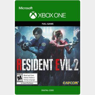 RESIDENT EVIL 2 [Microsoft Xbox One, X|S] [Full Game Key] [Region: U.S.] [Instant Delivery]