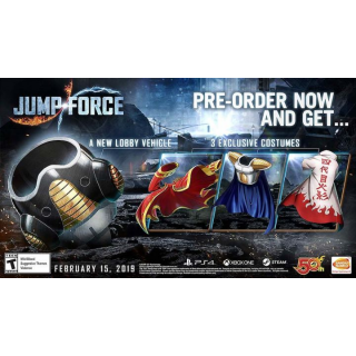 Jump Force Pre-Order Bonus DLC [ Sony PlayStation 4 ] [ DLC Key ] [ Region: North America ] [ Instant Delivery ]