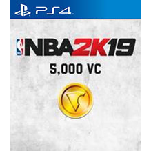 NBA 2K19: 5,000 Virtual Currency VC [ Sony PlayStation 4 / PS4 ] [ In-game Currency Key ] [ Region: U.S. ] [ Instant Delivery ]