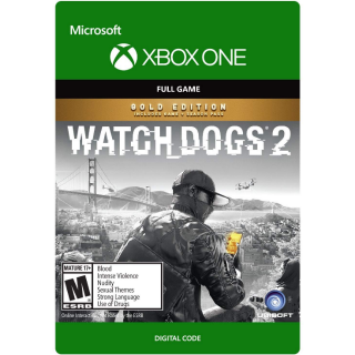 Watch Dogs 2 Gold Edition [ Microsoft Xbox One ] [ Full Game Key ] [ Region: U.S. ] [ Instant Delivery ]