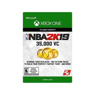 NBA 2K19 35,000 Virtual CurrencyVC [ Microsoft Xbox One ] [ In-game Currency Key ] [ Region: U.S. ] [ Instant Delivery ]