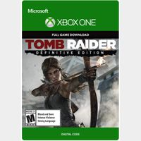 Tomb Raider: Definitive Edition [Microsoft Xbox One] [Full Game Key] [Region: U.S.] [Instant Delivery]