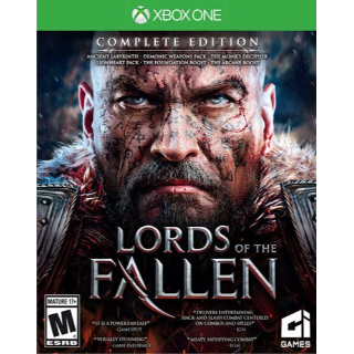 Lords of the Fallen Digital Complete Edition [ Microsoft Xbox One ] [ Full Game Key ] [ Region: U.S. ] [ Instant Delivery ]