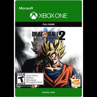 DRAGON BALL XENOVERSE 2 [ Microsoft Xbox One ] [ Full Game Key ] [ Region: U.S. ] [ Instant Delivery ]