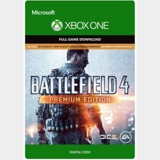 Battlefield 4: Premium Edition [Microsoft Xbox One, X|S] [Full Game Key] [Region: U.S.] [Instant Delivery]
