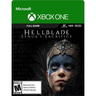 Hellblade: Senua's Sacrifice [ Microsoft Xbox One ] [ Full Game Key ] [ Region: U.S. ] [ Instant Delivery ]
