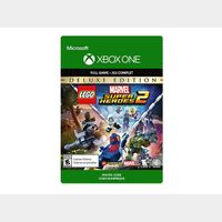 LEGO Marvel Super Heroes 2 Deluxe Edition [Microsoft Xbox One, X|S] [Full Game Key + DLC] [Region: U.S.] [Instant Delivery]