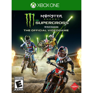 Monster Energy Supercross The Official Videogame [Microsoft Xbox One] [Full Game Key] [Region: U.S.] [Instant Delivery]