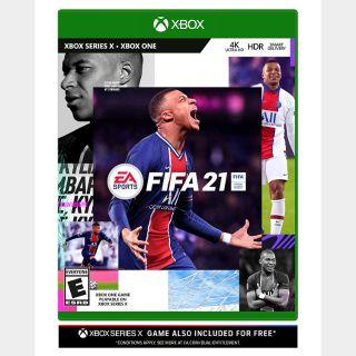 FIFA 21 [Microsoft Xbox One & X S] [Full Game Key] [Region: U.S.] [Instant Delivery]