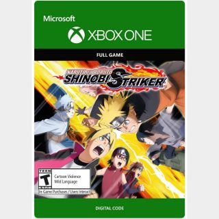 NARUTO TO BORUTO: SHINOBI STRIKER [Microsoft Xbox One, X|S] [Full Game Key] [Region: U.S.] [Instant Delivery]