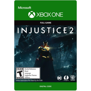Injustice 2 [Microsoft Xbox One] [Full Game Key] [Region: U.S.] [Instant Delivery]