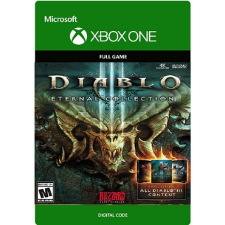Diablo III 3: Eternal Collection [ Microsoft Xbox One ] [ Full Game Key ] [ Region: U.S. ] [ Instant Delivery ]