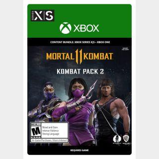 Mortal Kombat 11 Kombat Pack 2 [Microsoft Xbox One, X S] [Game Add-on Key] [Region: U.S.] [Instant Delivery]