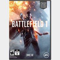 Battlefield 1 [ PC / Origin ] [ Full Game Key ] [ Region: U.S. ] [ Instant Delivery ]