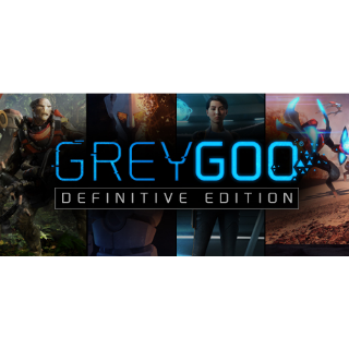 Grey Goo Definitive Edition [ PC / Steam ] [ Full Game Key ] [ Region: Global ] [ Instant Delivery ]