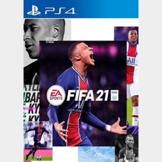 FIFA 21 [Sony PlayStation 4, 5 / PS4, PS5] [Full Game Key] [Region: U.S. & Canada] [Instant Delivery]