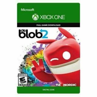 de Blob 2 [Microsoft Xbox One] [Full Game Key] [Region: U.S.] [Instant Delivery]