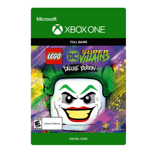 LEGO DC Super-Villains Deluxe Edition [Microsoft Xbox One] [Full Game Key + DLC] [Region: U.S.] [Instant Delivery]