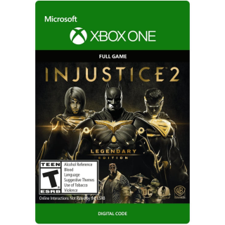 Injustice 2 - Legendary Edition [ Microsoft Xbox One ] [ Full Game Key ] [ Region: U.S. ] [ Instant Delivery ]