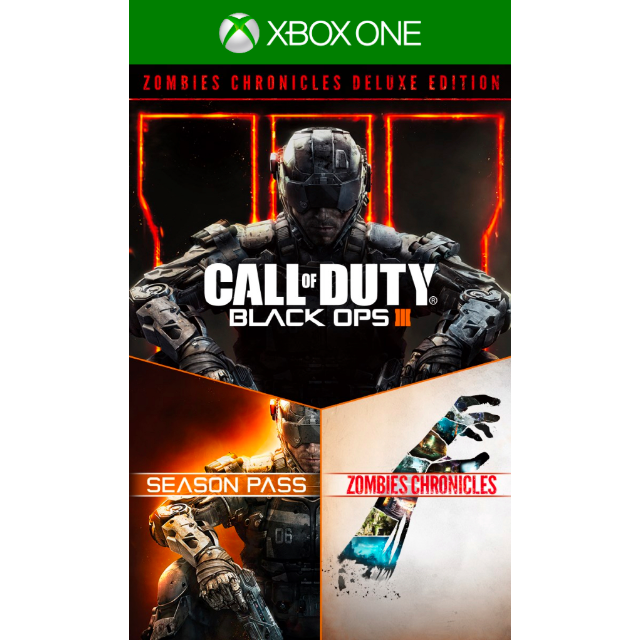 Call Of Duty Black Ops Iii 3 Zombies Deluxe Microsoft Xbox One