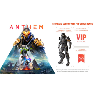 Anthem Pre-Order Bonus DLC [ Sony PlayStation 4 ] [ DLC Key ] [ Region: North America ] [ Instant Delivery ]