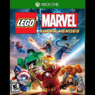LEGO Marvel Super Heroes [Microsoft Xbox One, X|S] [Full Game Key] [Region: U.S.] [Instant Delivery]