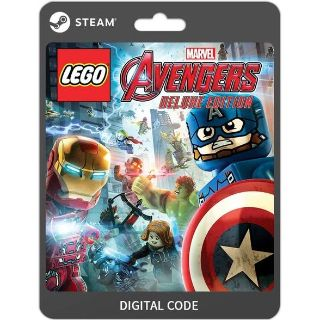LEGO MARVEL'S AVENGERS DELUXE EDITION [PC / Steam] [Full Game Key + DLC] [Region: Global] [Instant Delivery]